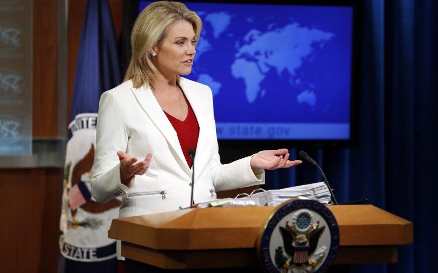 Nauert atšaukė savo kandidatūrą į JAV ambasadorės Jungtinėse Tautose postą