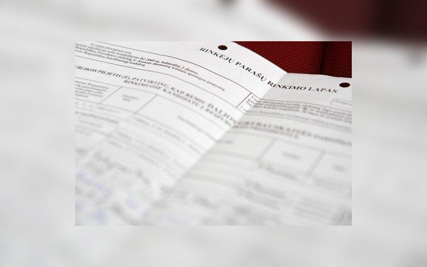 Gyventojų baimė trukdo pašto darbuotojams pristatyti rinkėjų pažymėjimus