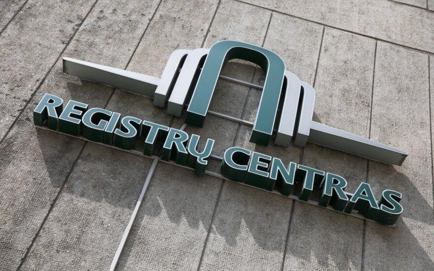 Registrų centrui kitąmet gali trūkti apyvartinių lėšų