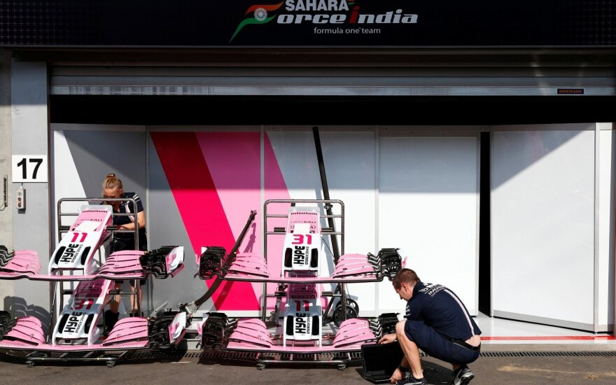 """Force India"" komanda"
