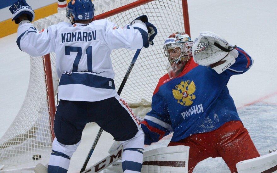 Leo Komarovas (Suomija) ir Semionas Varlamovas
