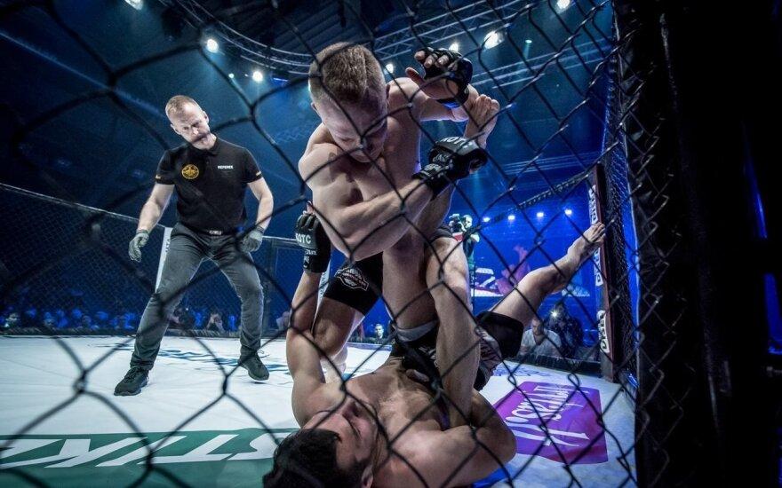 """""""King of the Cage"""" mišrių kovos menų turnyras Kaune (Foto: Giedrė Urbonaitė)"""