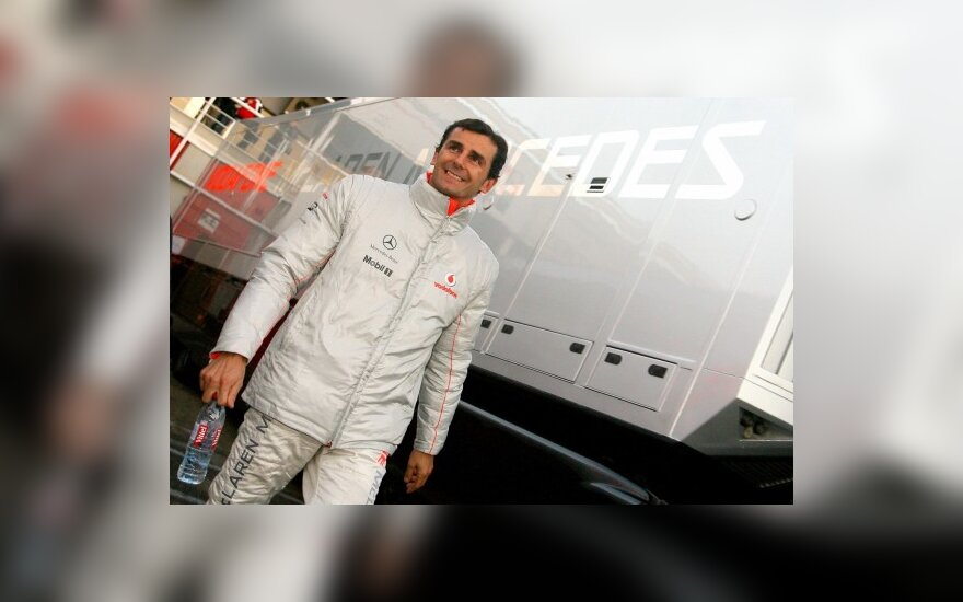 P. de la Rosa žada įtemptą čempionatą