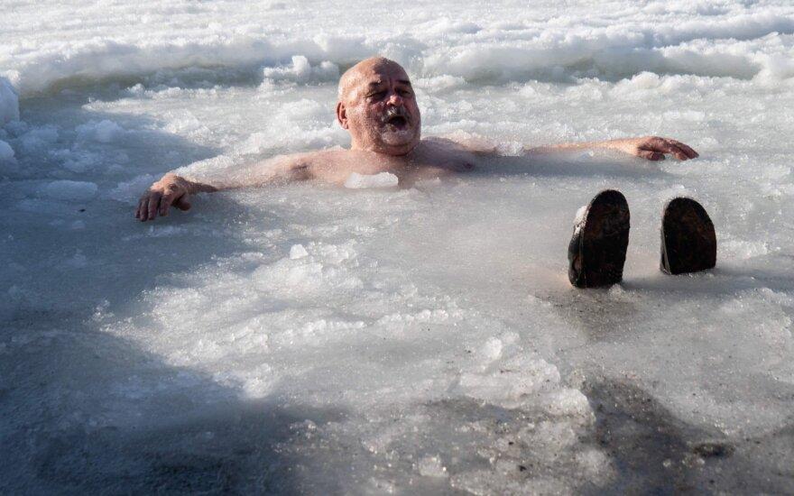 Viešpaties Krikšto šventės renginiuose Rusijoje dalyvavo daugiau kaip 2,4 mln. žmonių