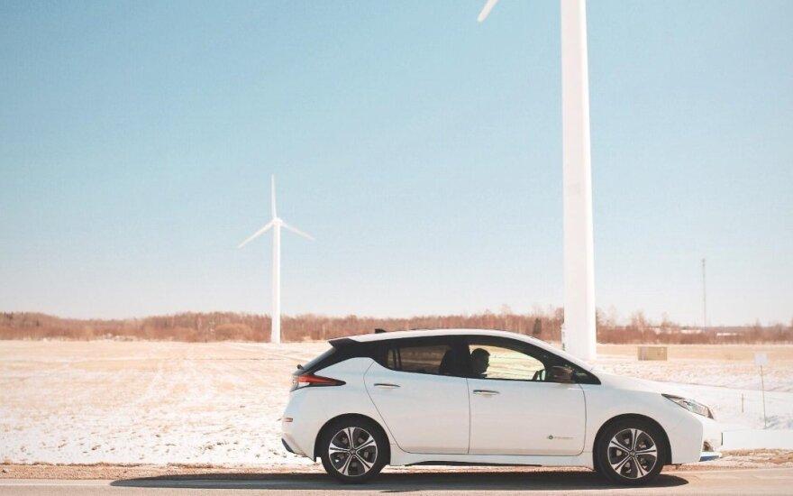 """Naujasis """"Nissan Leaf"""""""