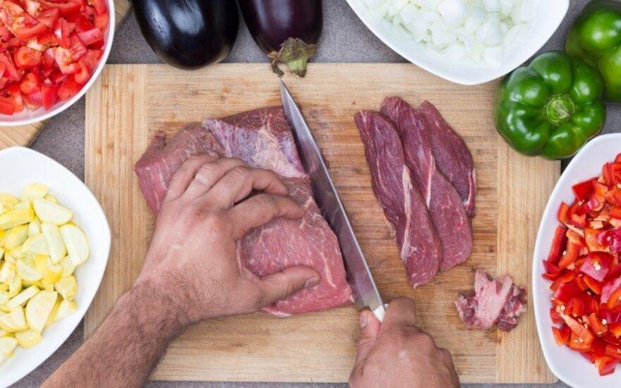 Kodėl raudonoji mėsa gali sukelti vėžį?