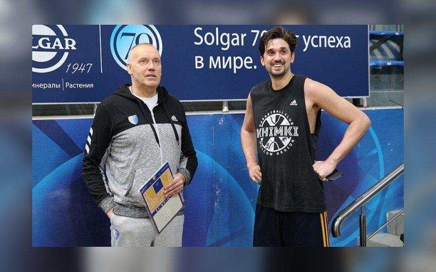 Rimas Kurtinaitis, Aleksejus Švedas