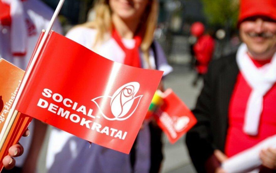 Socialdemokratai nepasidalina Vilniaus?