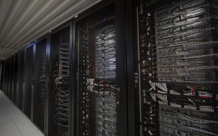 Data centre (photo courtesy of Vaizdo Centras)