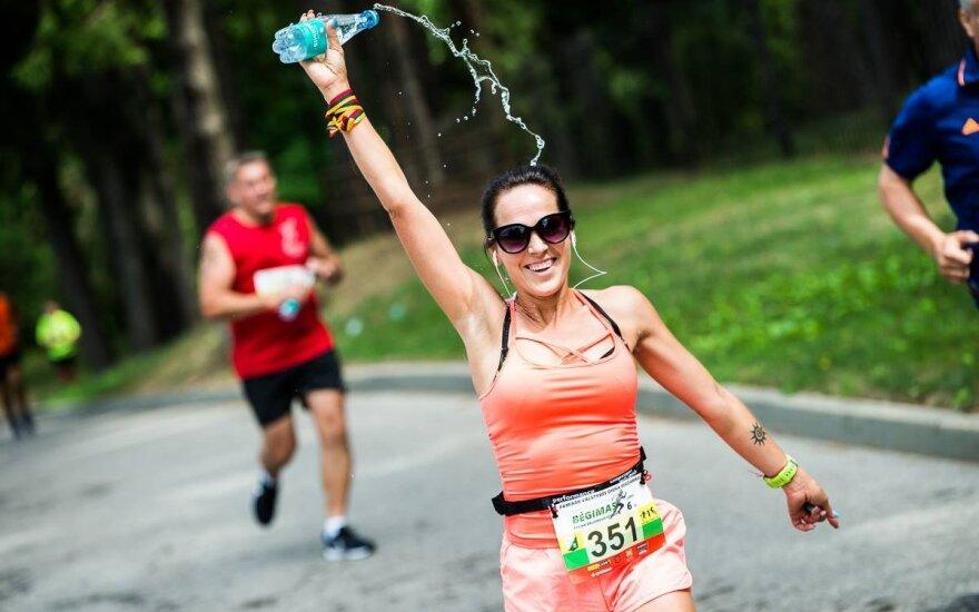 29-as bėgimas aplink Žaliuosius ežerus / FOTO: Mantas Repečka
