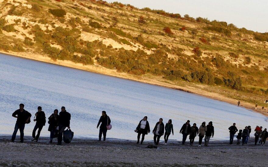 Savaitgalį prie Italijos krantų išgelbėta per 2 500 migrantų