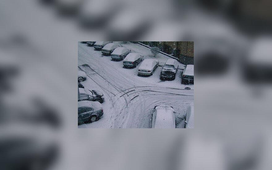 Automobiliai, žiema