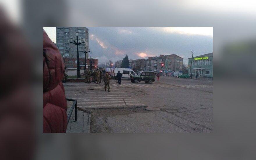 Gaisro nuniokotoje Ukrainos šaudmenų saugykloje – dar vienas incidentas