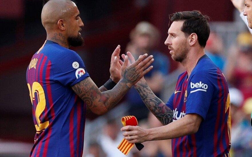 Arturo Vidalis, Lionelis Messi