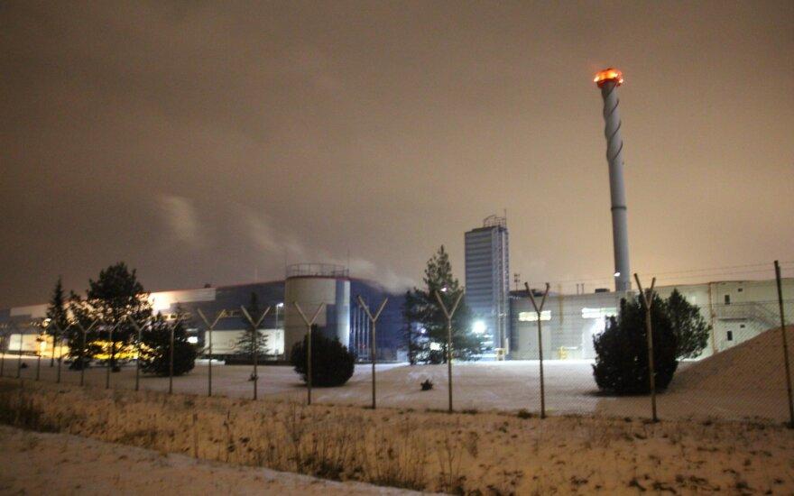 """Klaipėdoje gaisras kilo """"Philip Morris Lietuva"""" fabrike, evakuoti darbuotojai"""