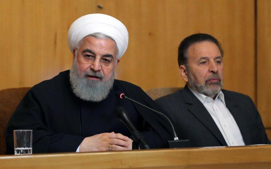 Irano prezidentas užsipuolė JAV ir Izraelį