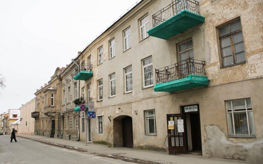 Vilniaus balkonai velkami į žalią maršką