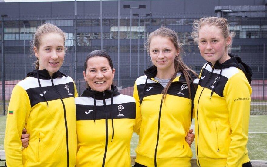 Federacijos taurė: jaunos lietuvės patikėjo, kad gali laimėti ir prieš patyrusias varžoves