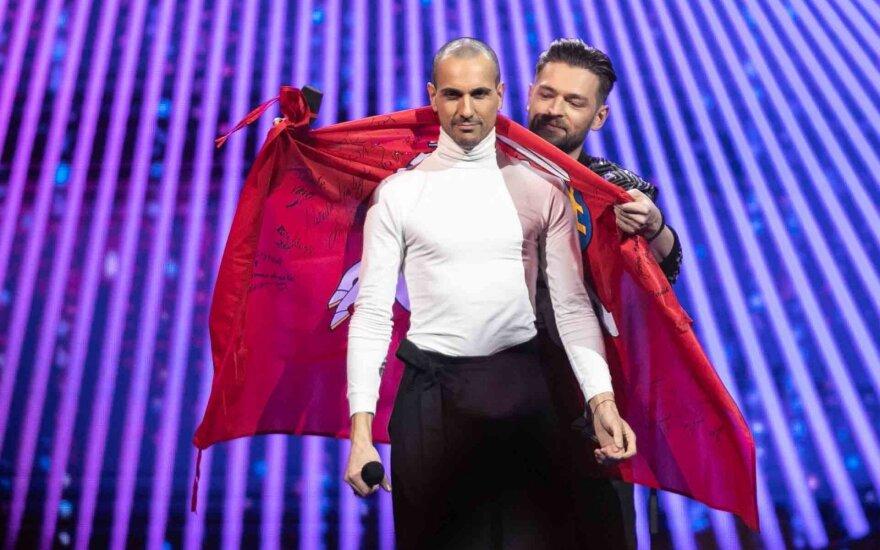 """Eurovizijos finalo laimėtojas - """"The Roop"""""""