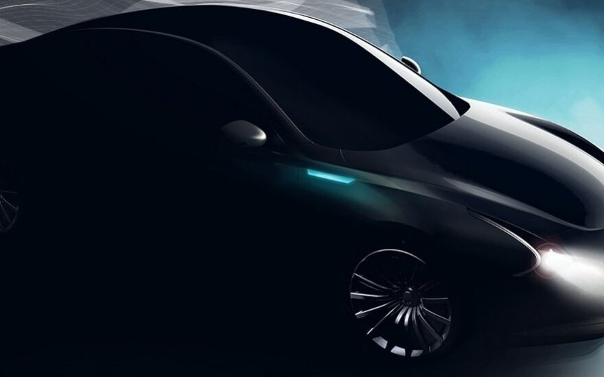 """Thunder Power"" koncepcinis automobilis"