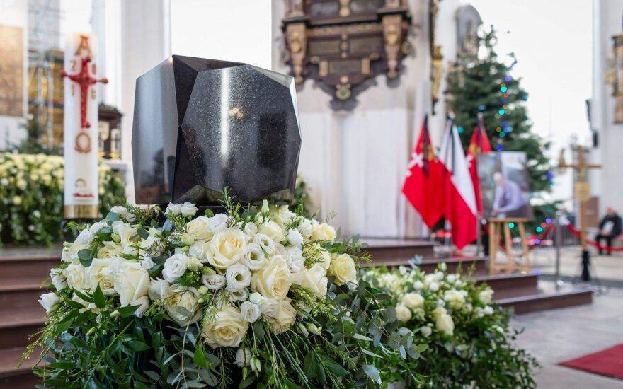 Pawelo Adamowicziaus laidotuvės