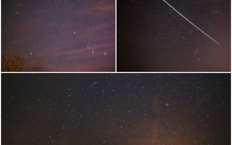 Siųskite! Ar jums pavyko užfiksuoti gražų astronominį reiškinį – geminidų lietų?
