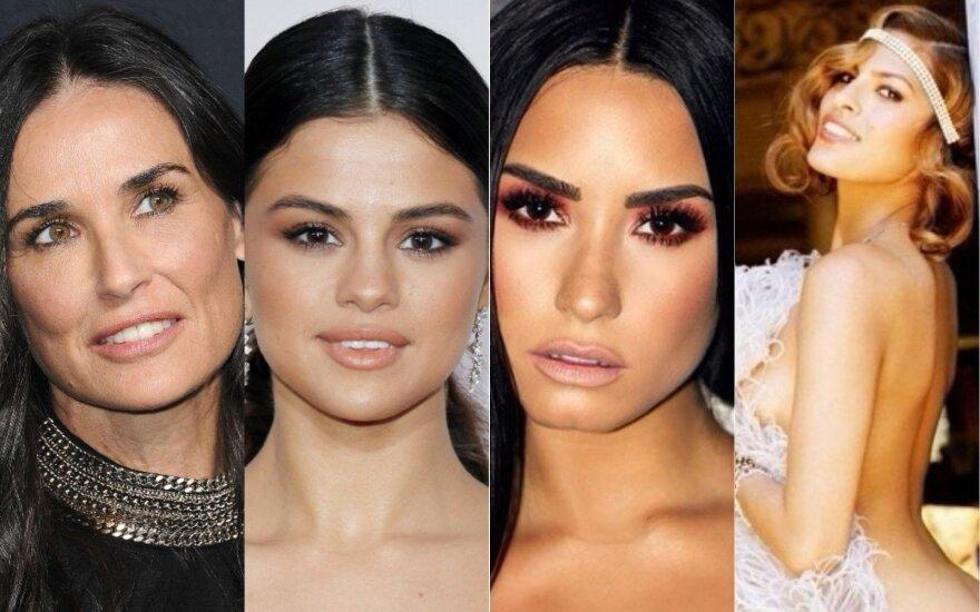 Demi Moore, Selena Gomez, Demi Lovato, Eva Mendes