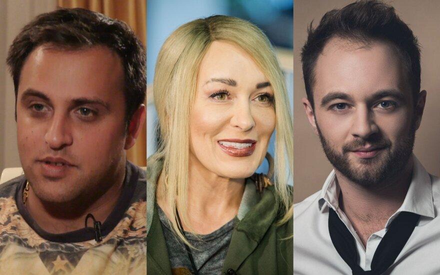 Radžis Aleksandrovičius, Džordana Butkutė, Dominykas Vaitiekūnas