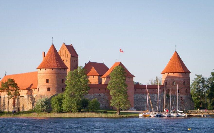 Trakų pusiasalio pilyje – keturioliktoji Viduramžių šventė