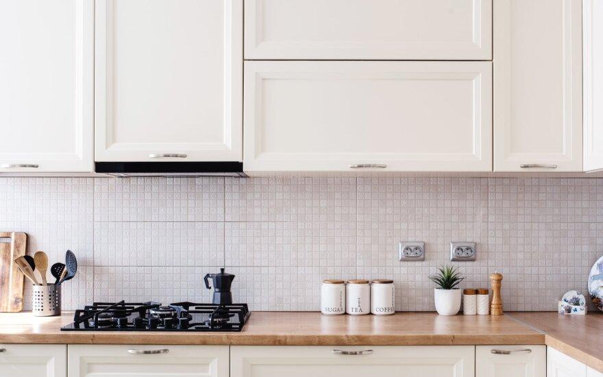 Virtuvės plytelės