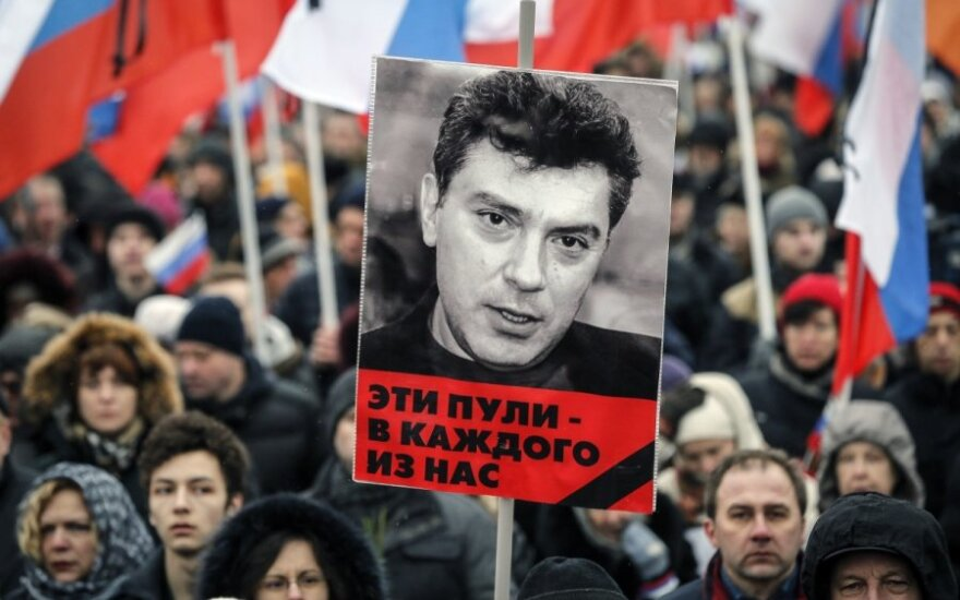 Lithuanian MP proposes parliamentary resolution on Nemtsov's murder