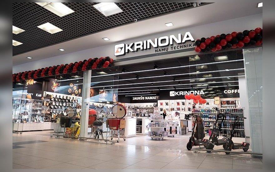 """FNTT įtarimų 2,8 mln. eurų nuslėpimu galimai sulaukė prekybos tinklas """"Krinona"""""""