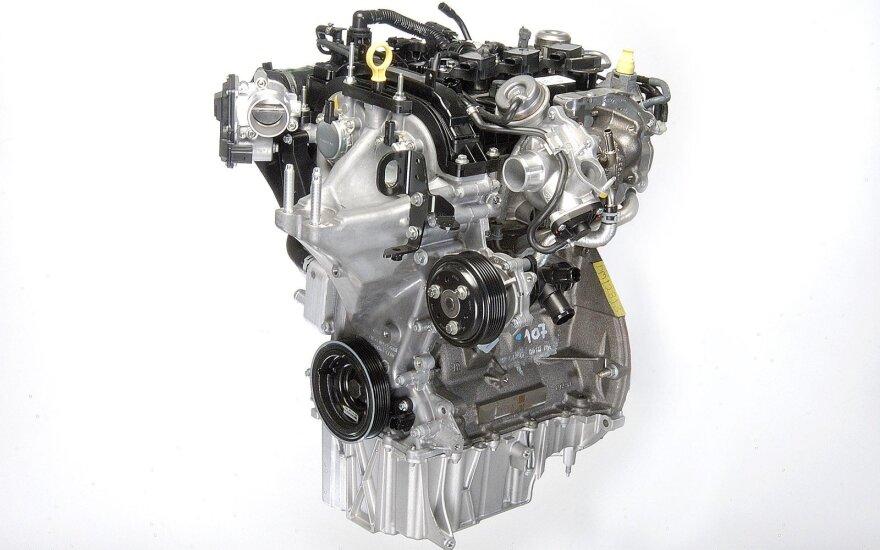 """Ford"" 1 litro variklis ""EcoBoost"""
