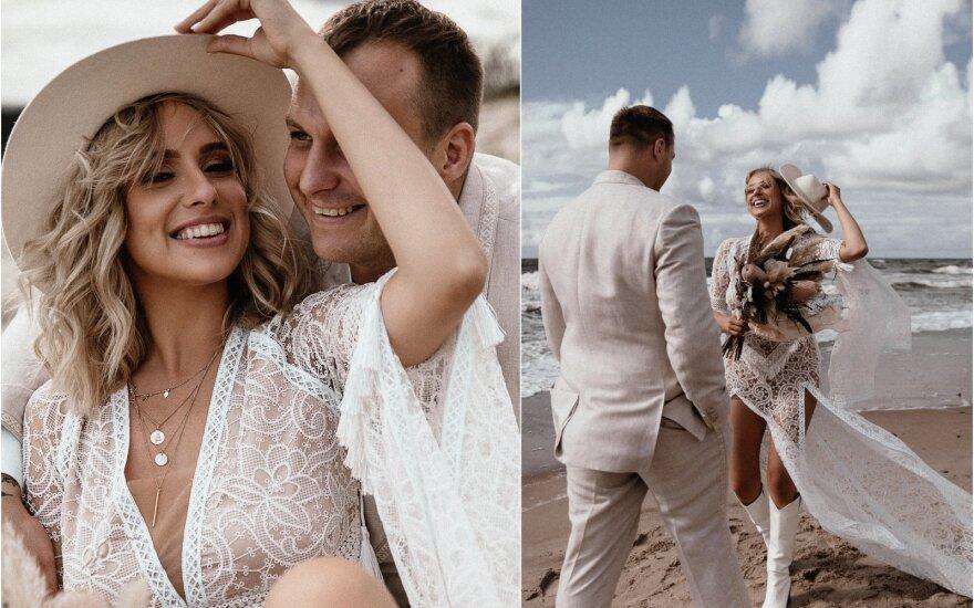 Viktorijos Šaulytės ir Juliaus Mockos vestuvės / Foto: Portraits by Karolina