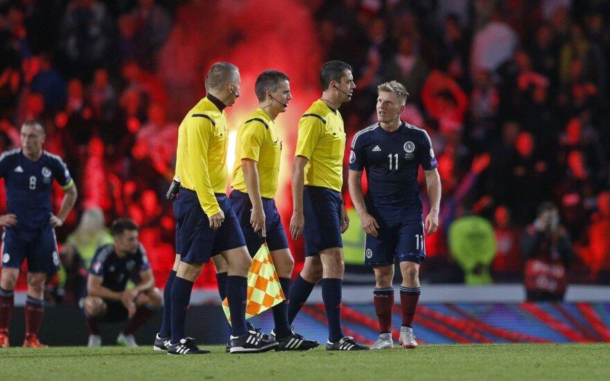 Euro 2016 atidarymo rungtynėms teisėjaus liūdnai pagarsėjęs arbitras