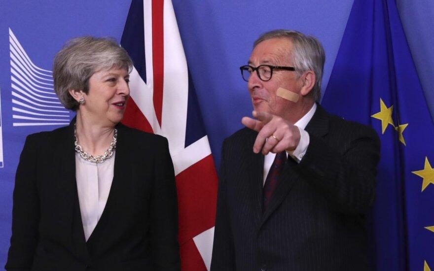 Theresa May, Jeanas Claude'as Junckeris