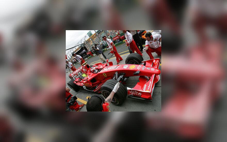 """Kimi Raikkonen (""""Ferrari"""")"""