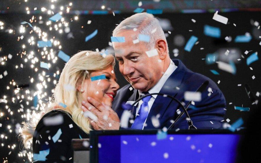 Sara Netanyahu, Benjaminas Netanyahu