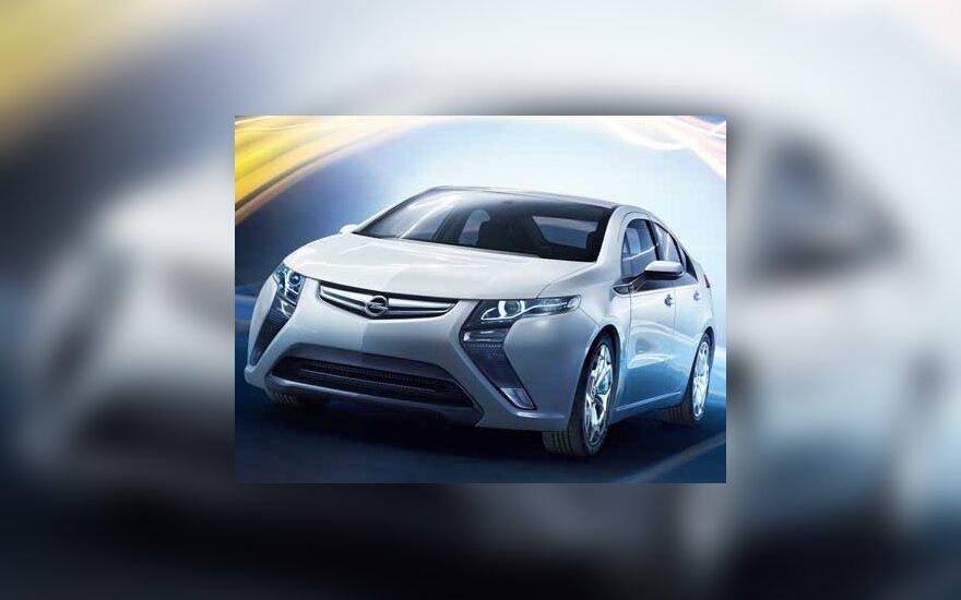 "Elektra varomo ""Opel Ampera"" gamyba prasidės 2011 m."