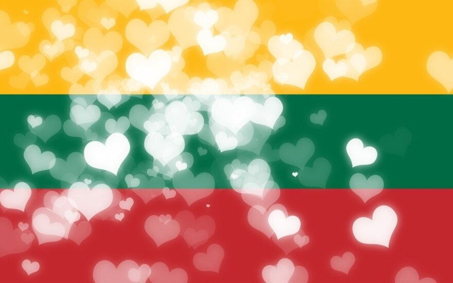 Lithuania's flag