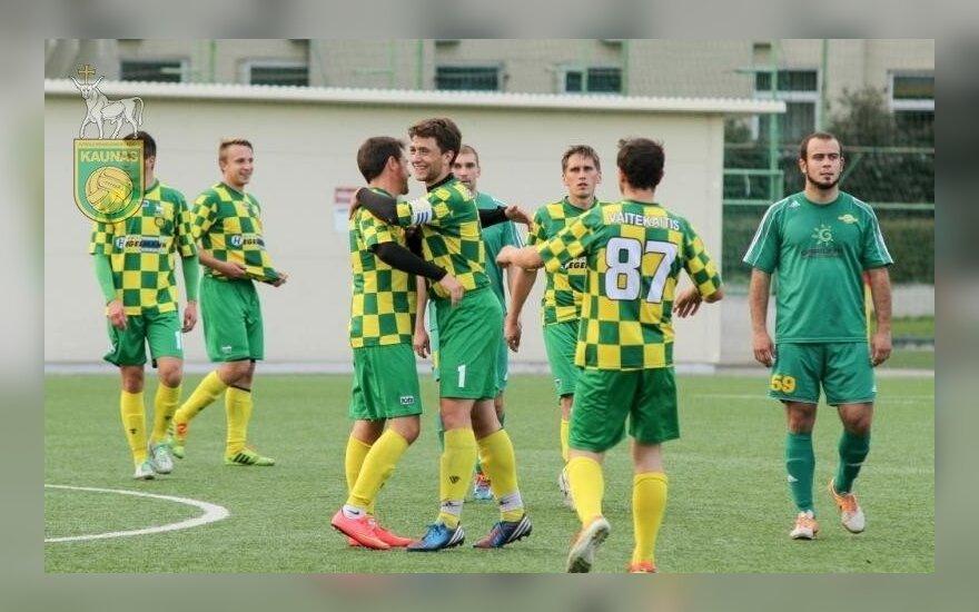 "FBK ""Kauno"" futbolininkai (fbk-kaunas.lt nuotr.)"