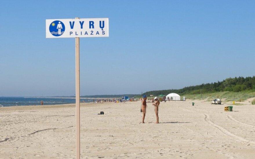 Kas vyksta vyrų pliaže