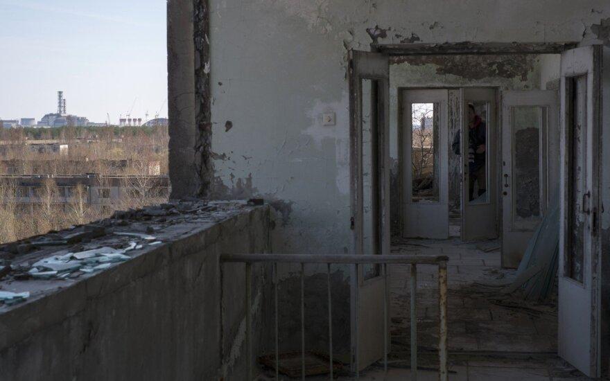 Černobylio jėgainės zonoje užfiksuota nedidelė radioaktyvaus jodo koncentracija