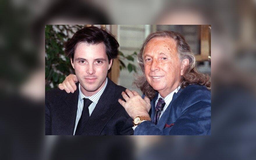 Tedas Lapidus (d.) su sūnumi Olivieriu