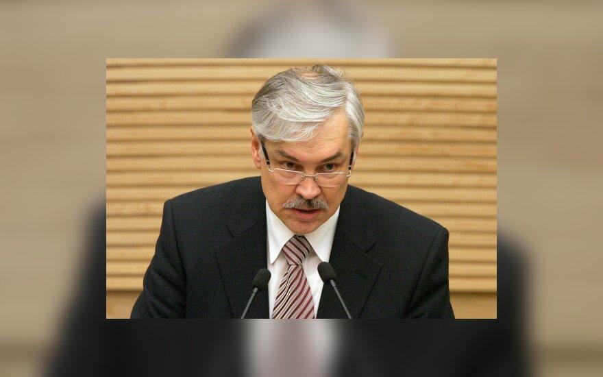 Z.Balčytis renka europarlamentarų parašus dėl GMO