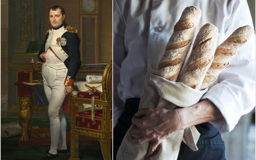 Kodėl Napoleonui prireikė tokio ilgo prancūziško batono?