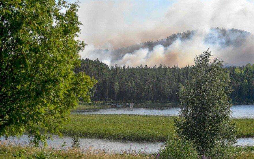 Gaisras Švedijoje