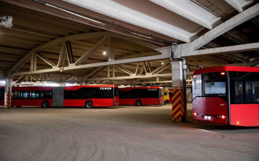 Autobusų parkas Žirmūnuose