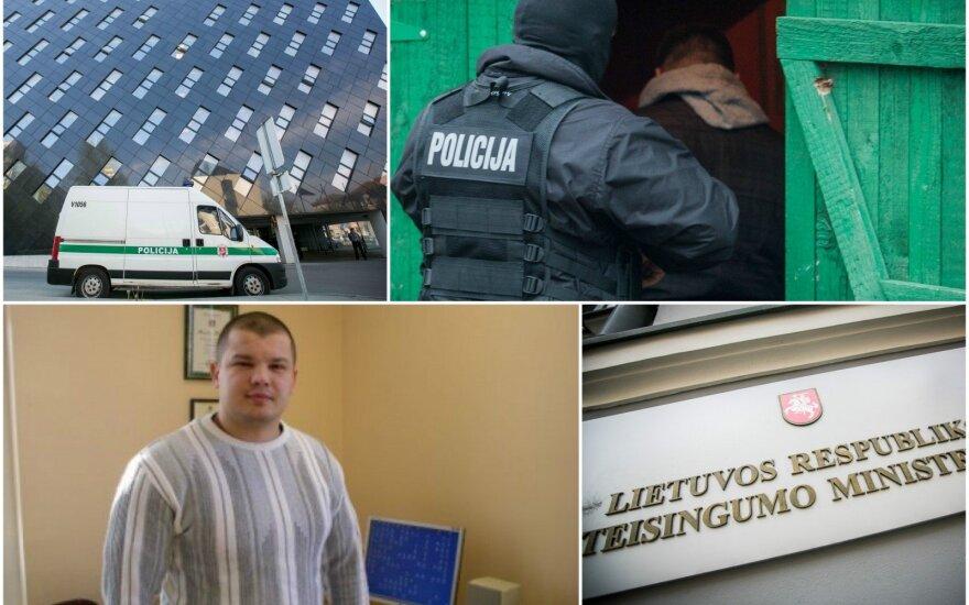 Geriausiu policijos sekliu išrinktas pareigūnas imitavo kovą su mafija: buvo įkalinti jokio nusikaltimo nepadarę žmonės