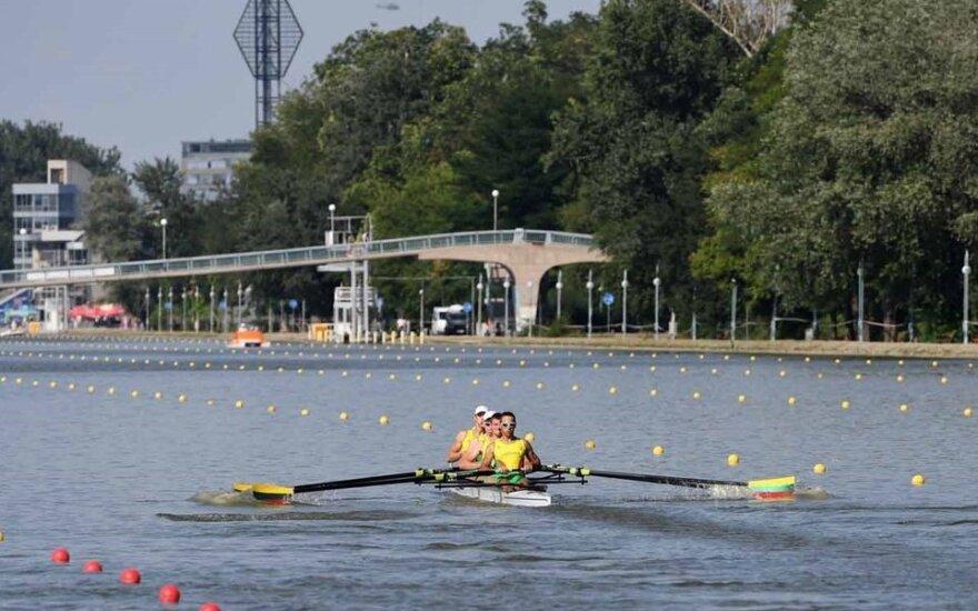 Europos čempionato finale Mantas Juškevičius, Giedrius Bieliauskas, Povilas Stankūnas ir Saulius Ilonis 2 km nuirklavo per 6 min. 24,97 sek. ir nusileido tik Rumunijos irkluotojams